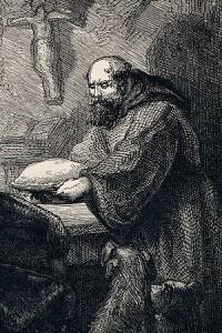 Friar Tuck in Ivanho