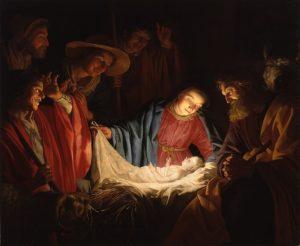 Adoration of Shepherds Art